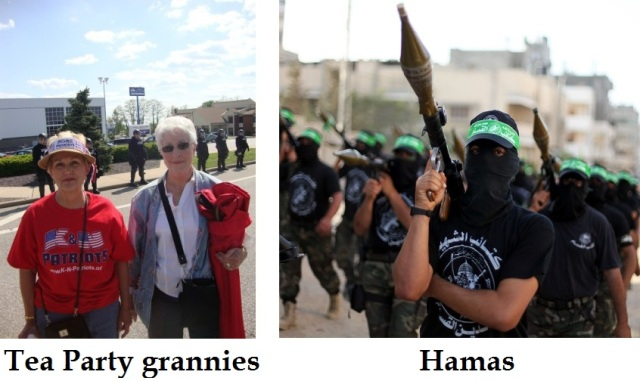 Tea Party vs. Hamas