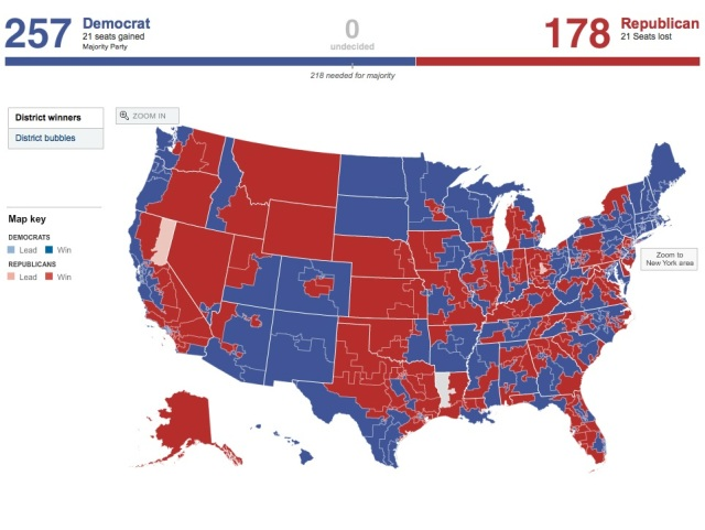 2008 HoR map